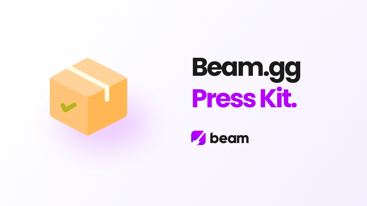 Article cover image for Beam.gg press kit.