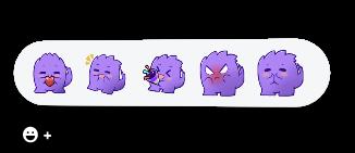 Image showing Beam.gg custom set of user reactions.