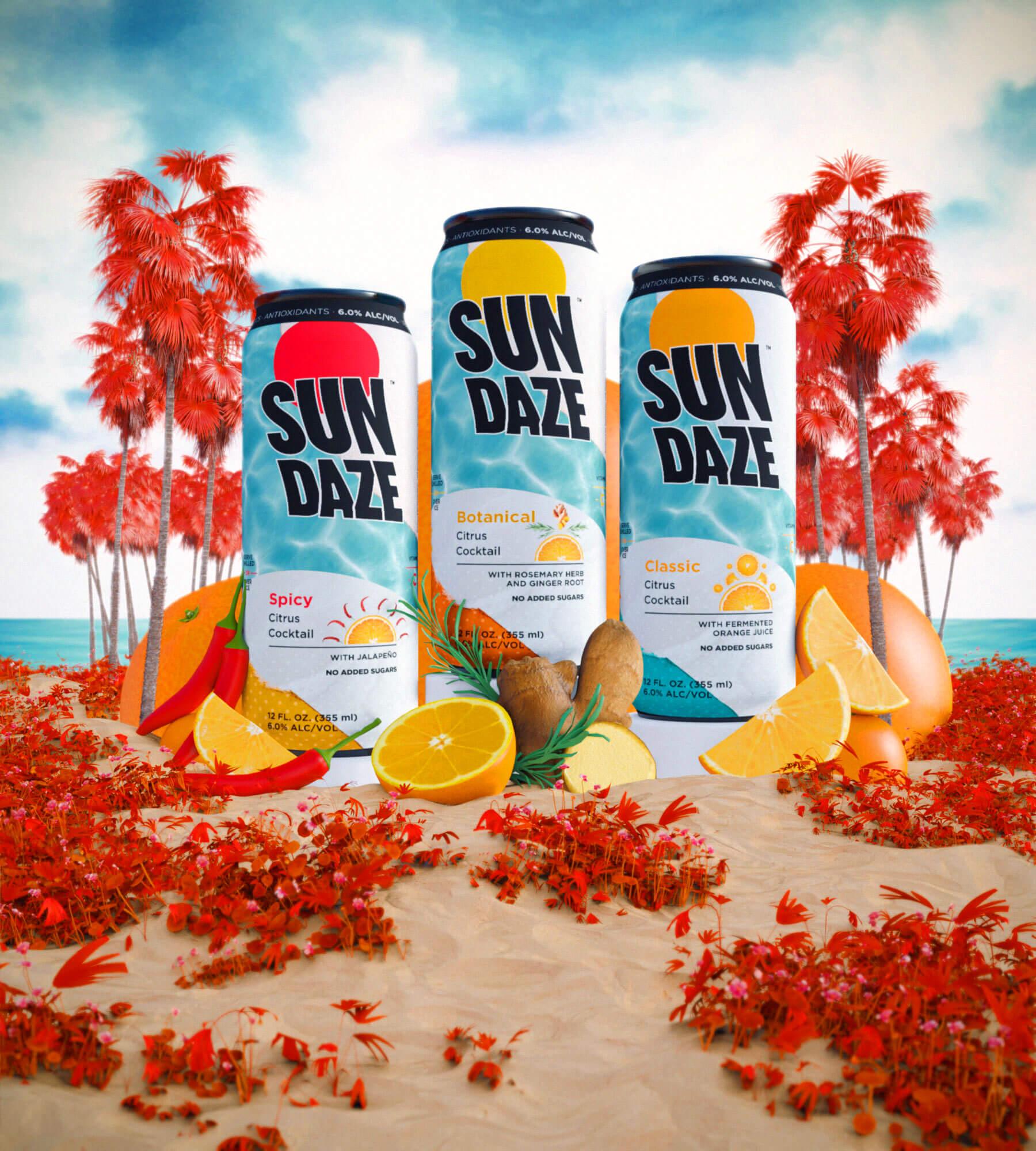 SunDaze flavors