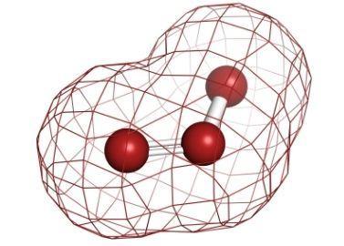 Ozone O3 Molecule