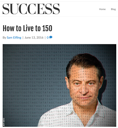 success - how to live to 150