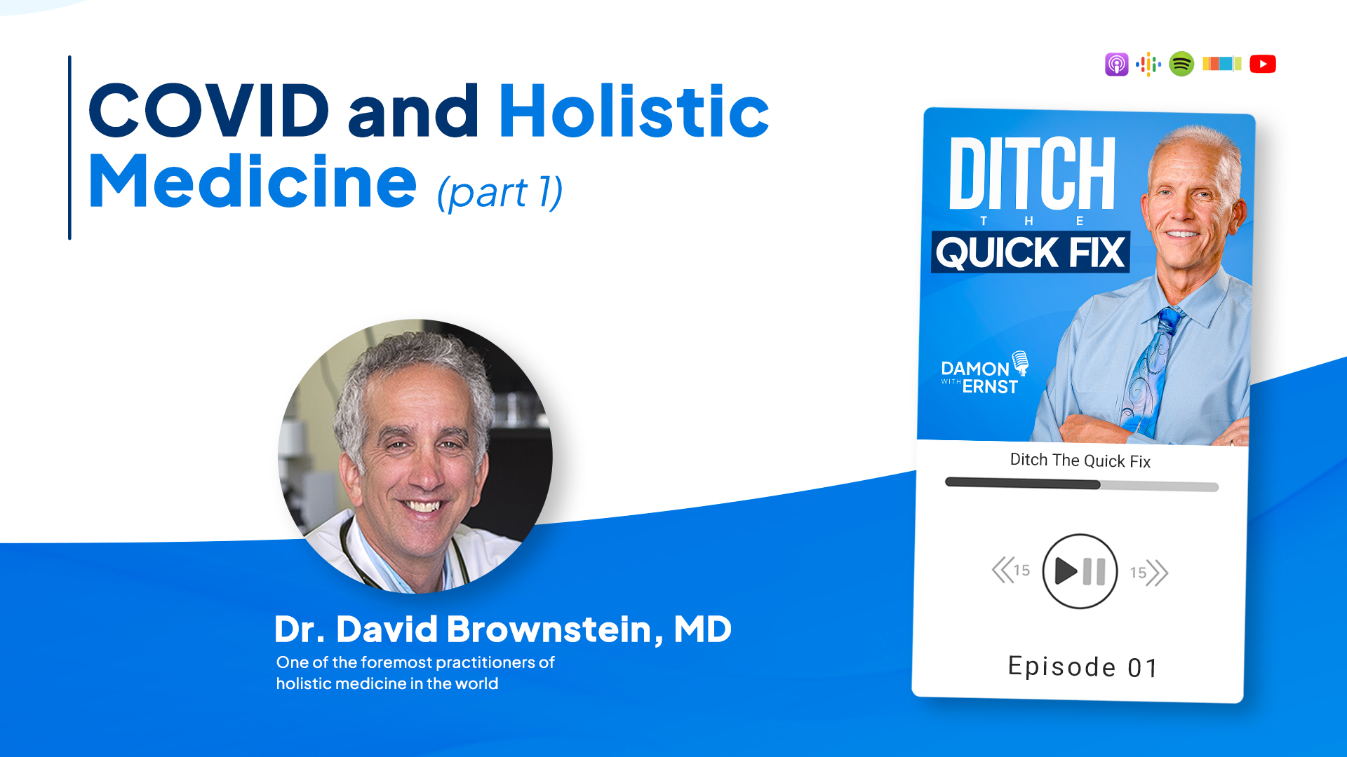COVID and Holistic Medicine with Dr. David Brownstein