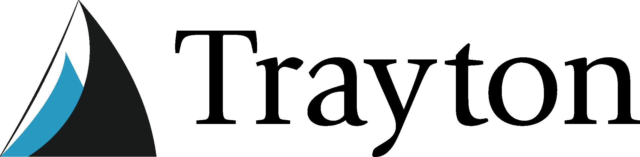 Trayton logo detail footer