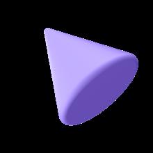Cone roxo