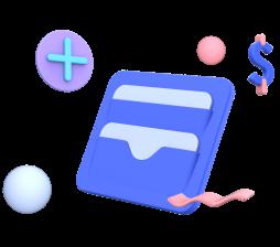 ícone de uma carteira
