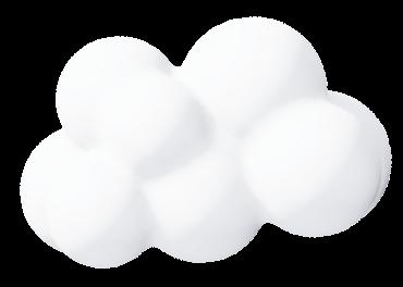imagem decorativa de nuvem