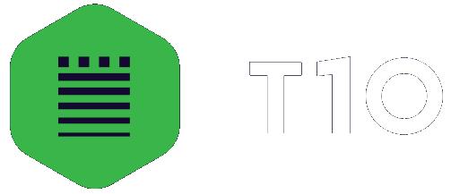 t10 logo