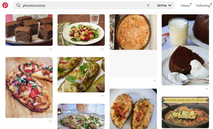 Capture Pinterest Photato contest