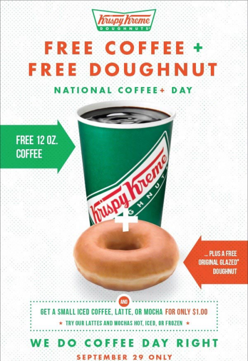 Free Coffee & Doughnut