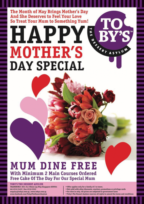 Mother's Day Special Promotion