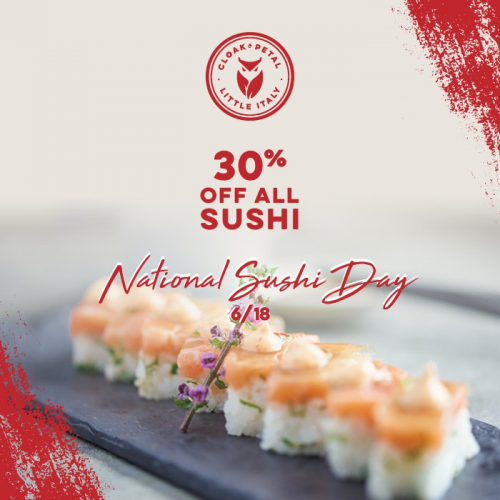 National Sushi Day Discount
