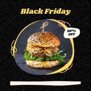 black friday marketing deal