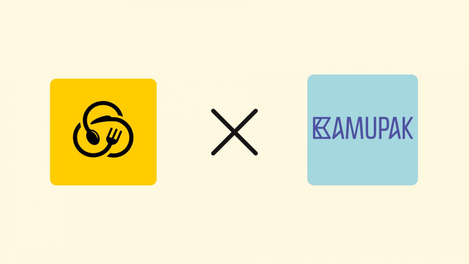 Snappmeal on nyt Kamupakin kanssa kumppaneita: kestävä tapa syödä ulkona!