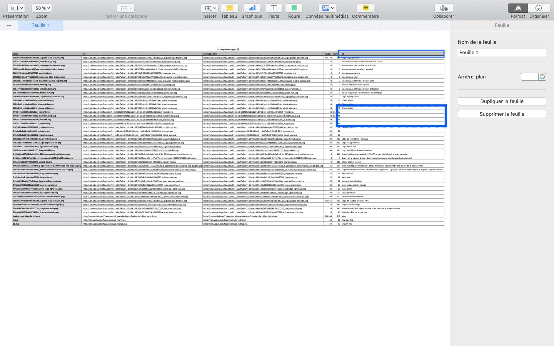 CS files audit on page ALT