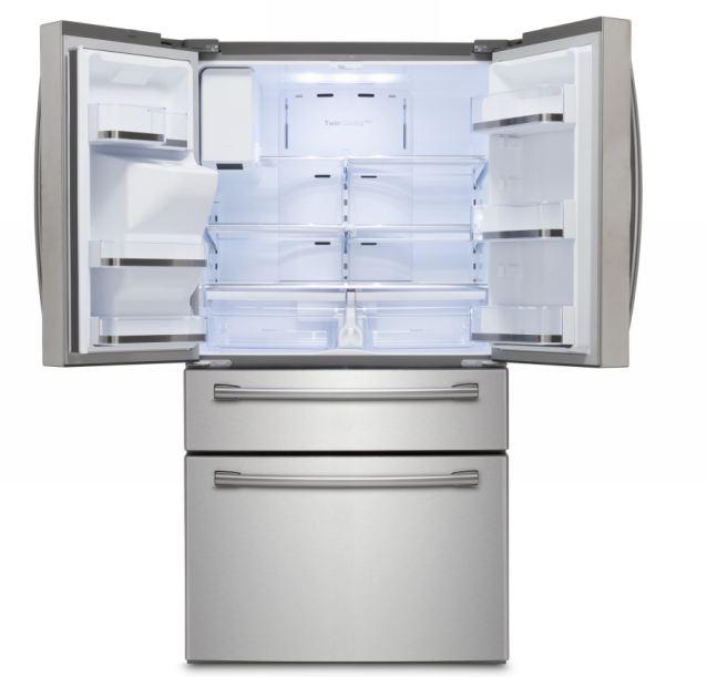 Open Fridge Freezer