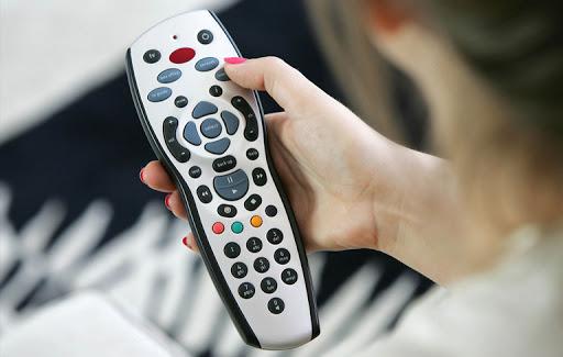 A Satellie TV remote