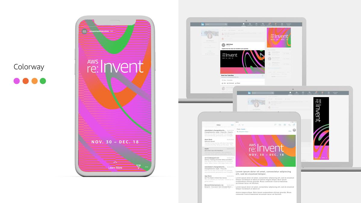 AWS re:Invent mobile design