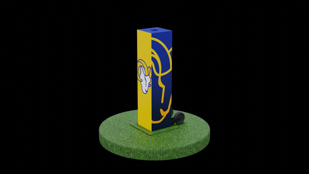 LA Rams stage design concept model