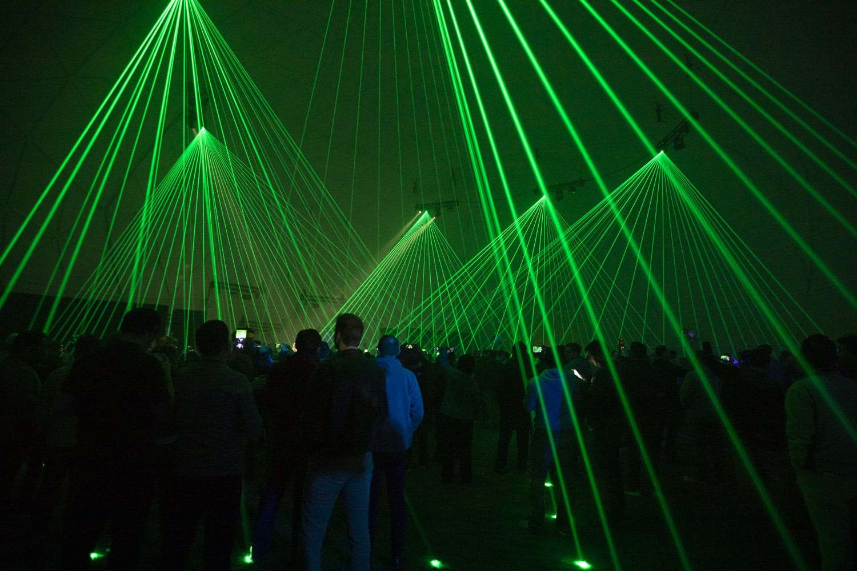 AWS re:Play Laser
