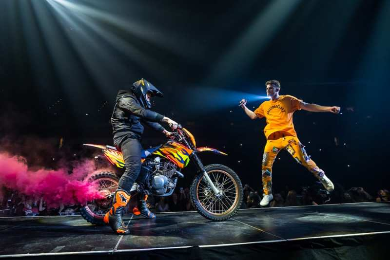 The Chainsmokers World War Joy Tour Motorcycle