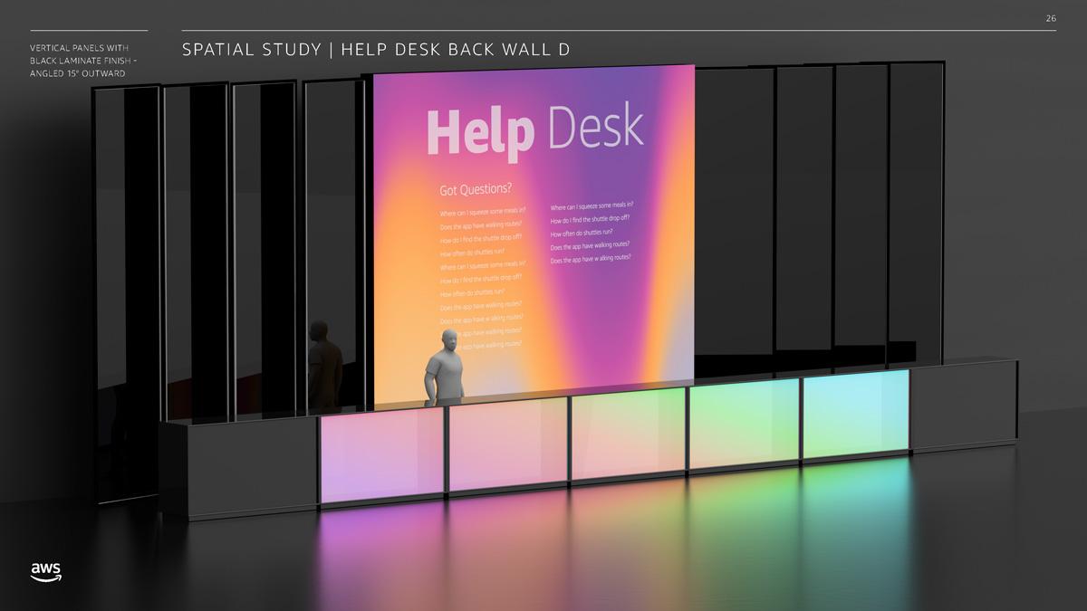AWS re:Invent 2019 Help Desk