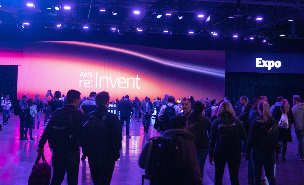 AWS re:Invent Lobby