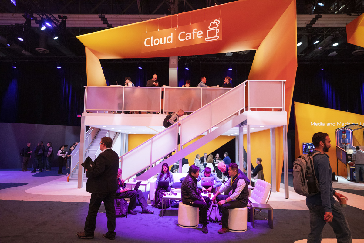 AWS re:Invent Cloud Cafe