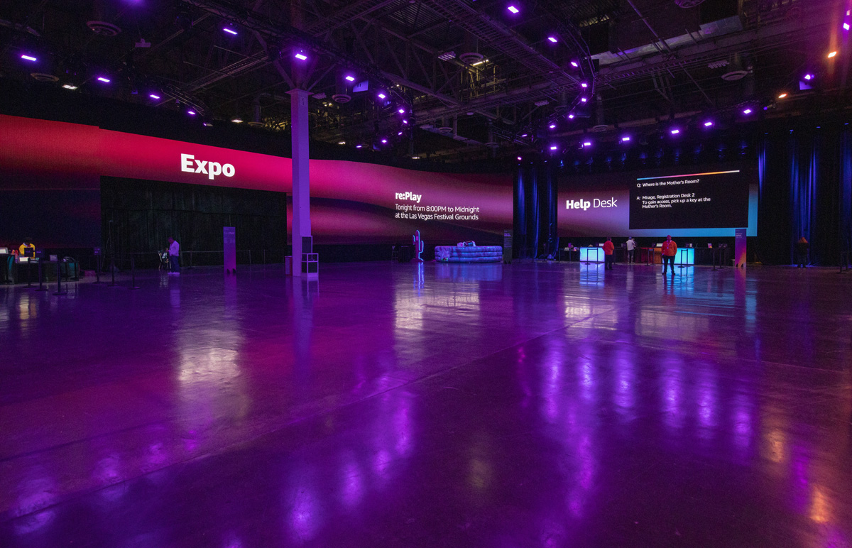 AWS re:Invent 2019 Lobby