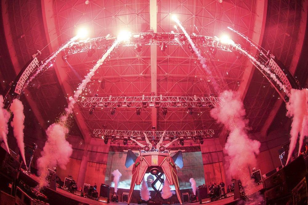 Skrillex Spaceship MK2 lights
