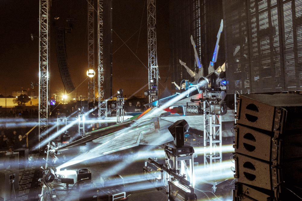 The Skrillex Spaceship MK2