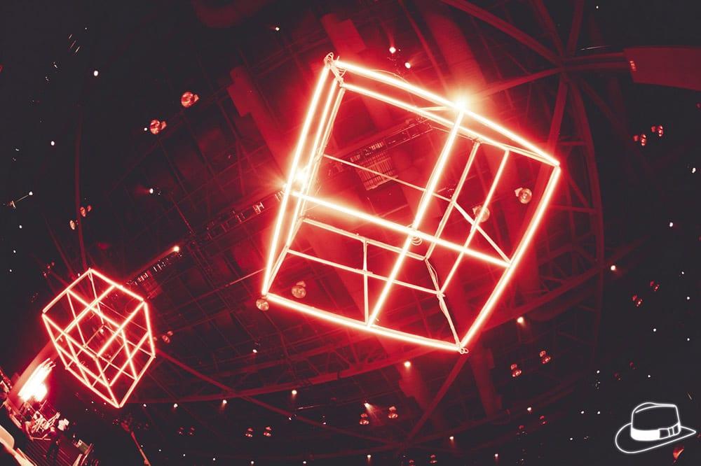 Notch .party() Seattle neon cubes