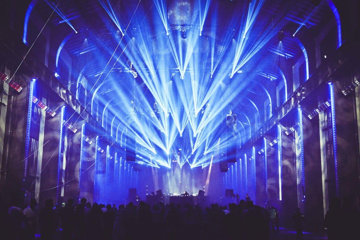 .party() Paris lights