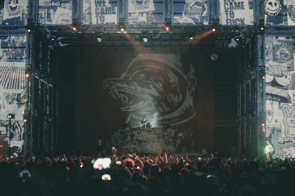 Dog Blood Festival stage