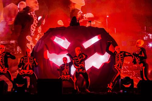 Skrillex @ HARD Day of the Dead 'Pumpkin' Show