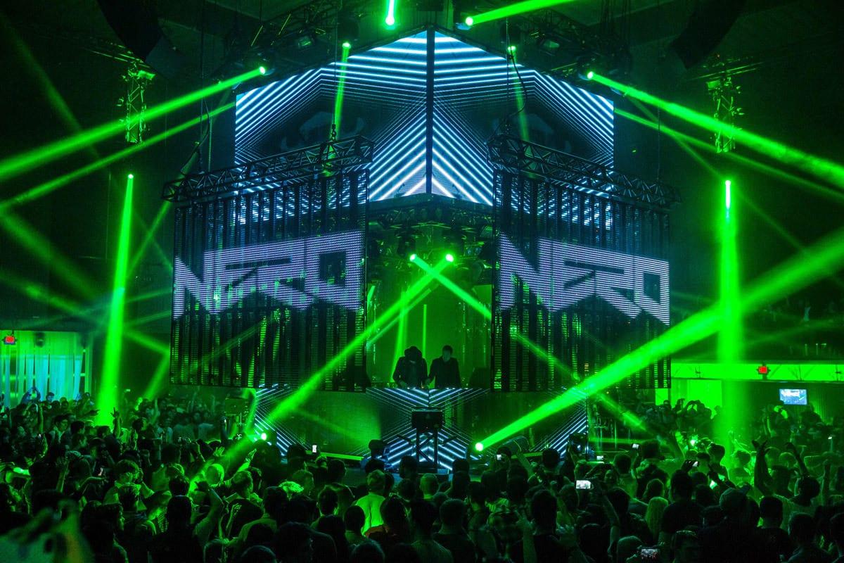 Notch dotparty san francisco vol II stage lights