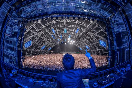 Zedd @ Coachella Show