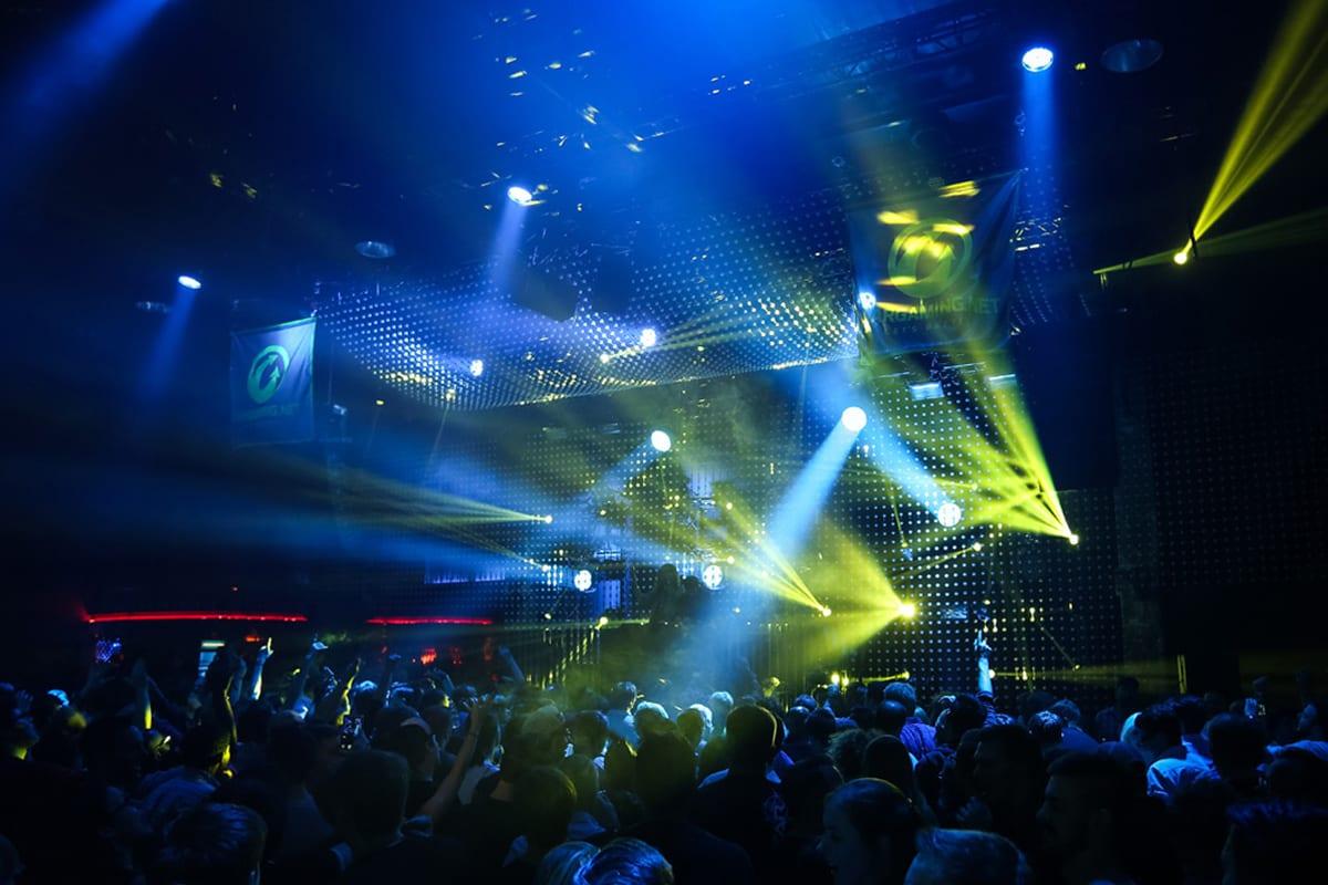 Wargaming gamescom party lighting