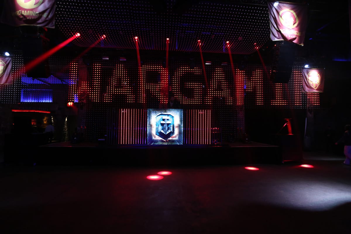 Wargaming gamescom party graphics