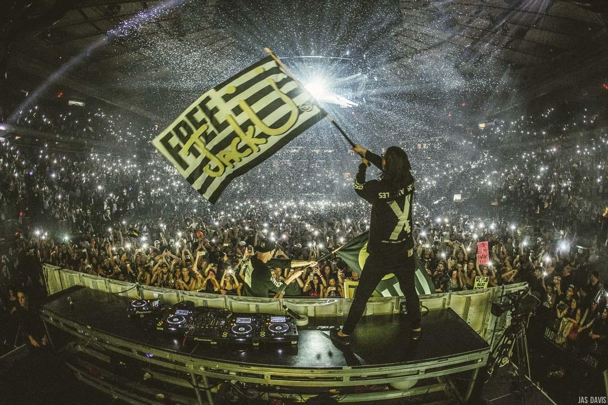 JackU NYE Madison Square Garden 2015