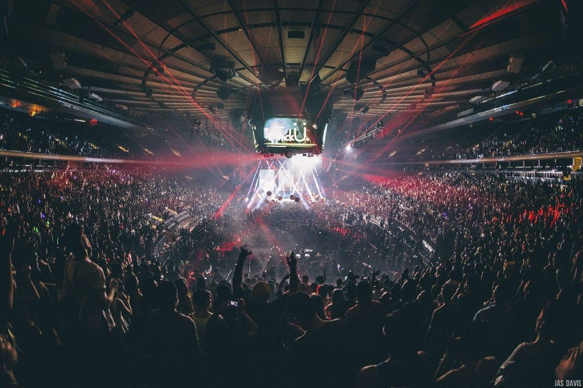 JackU NYE Madison Square Garden