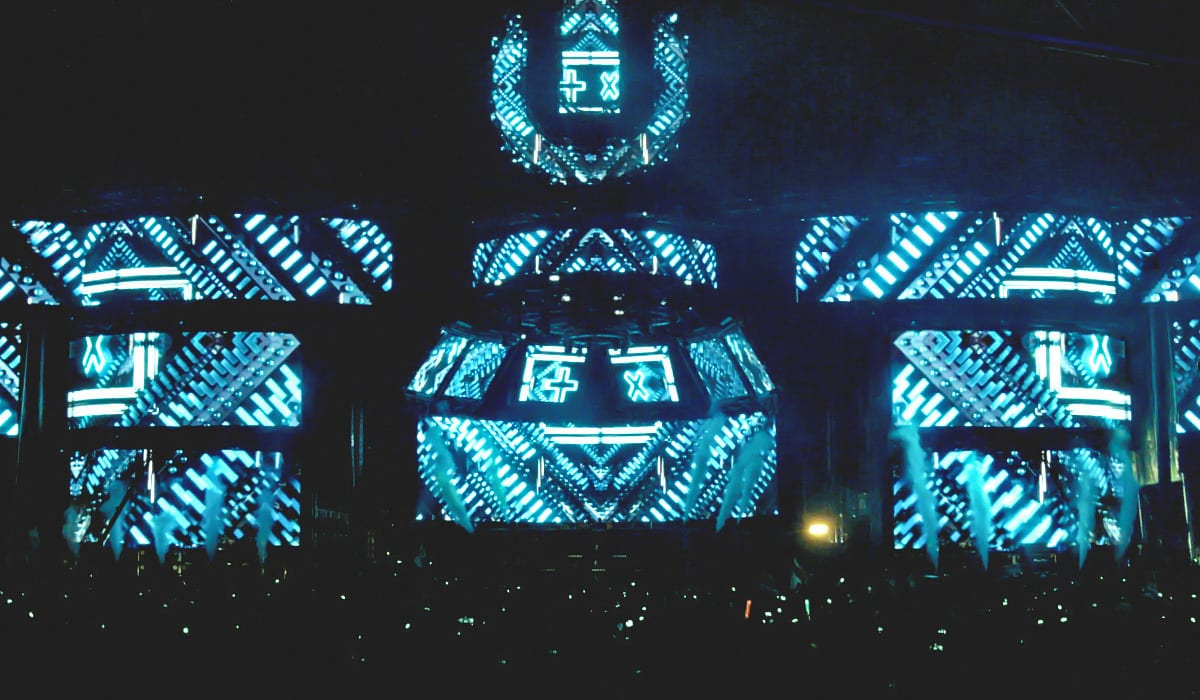 Ultra Music Festival 2015 stage video graphics