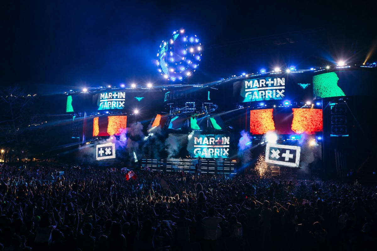 Ultra Music Festival 2015 stage lights