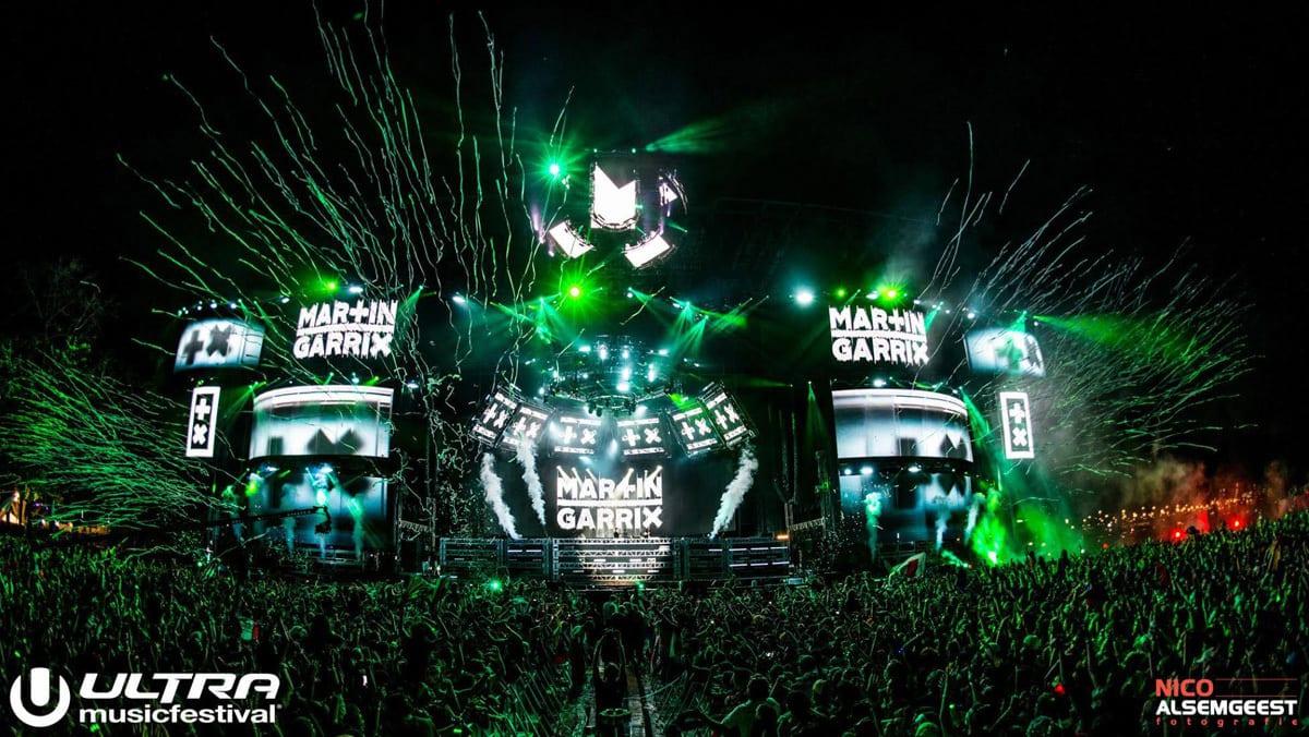 Ultra Music Festival 2015 Lights