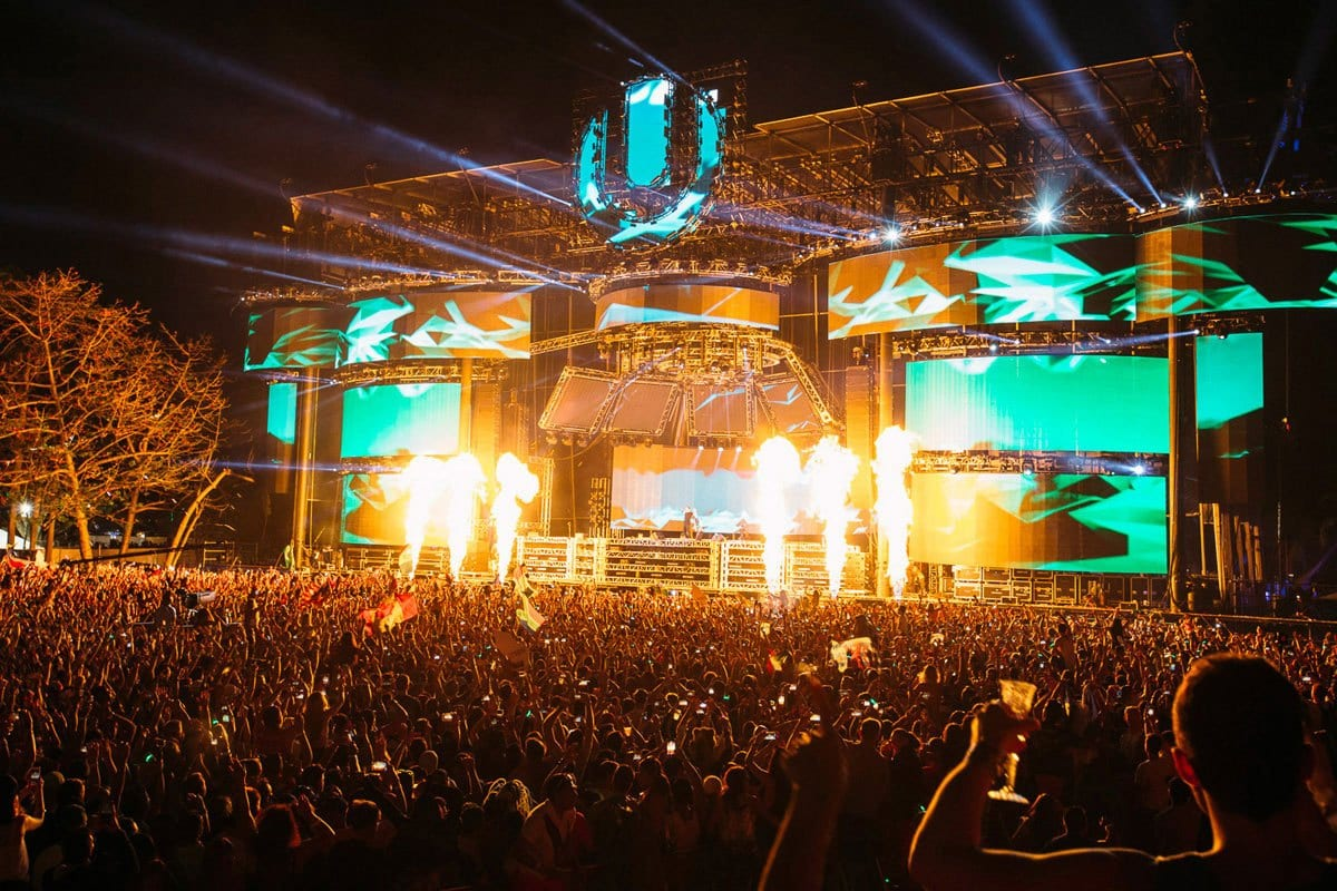 Ultra Music Festival 2015 stage