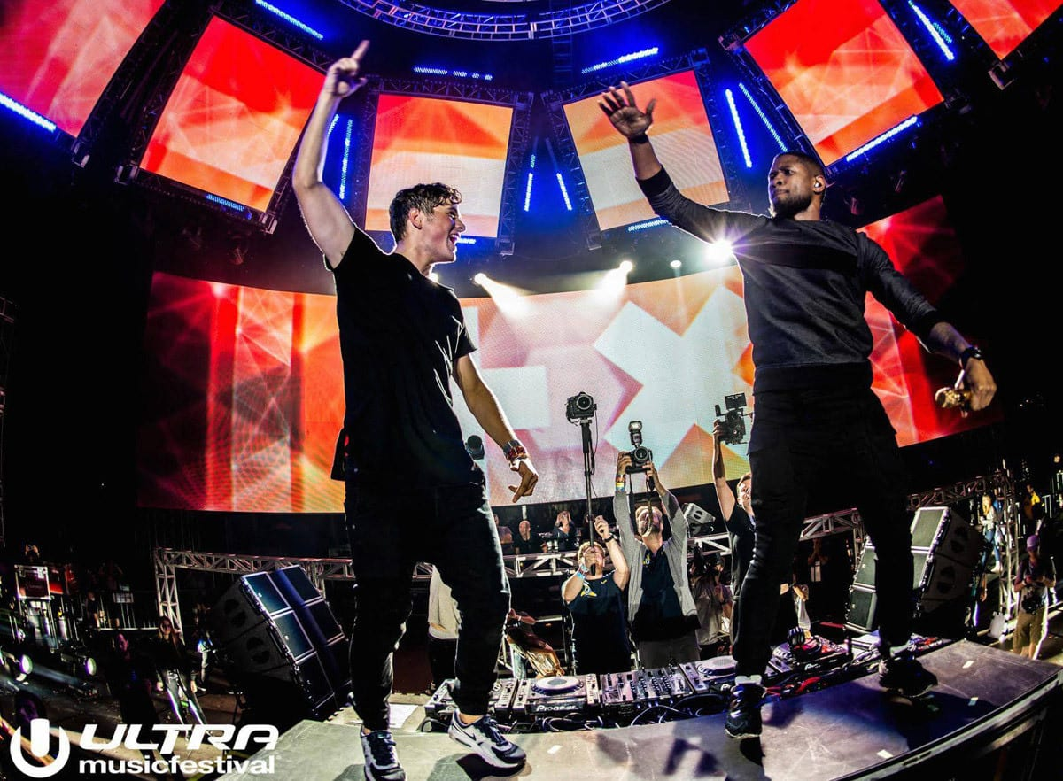 Ultra Music Festival Miami stage