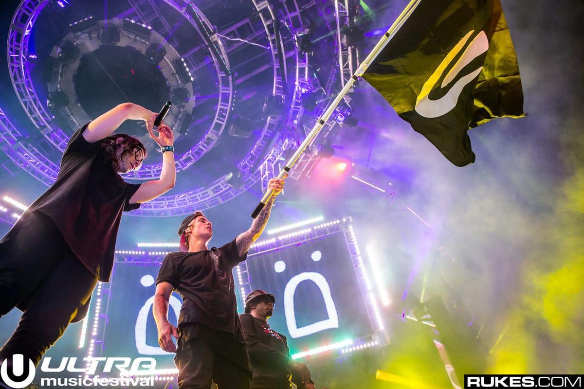 Ultra Music Festival Miami  Skrillex