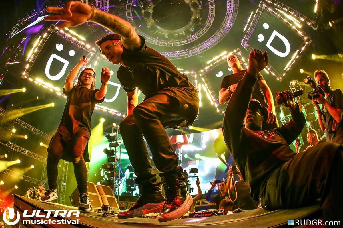Ultra Music Festival Miami  skillex diplo
