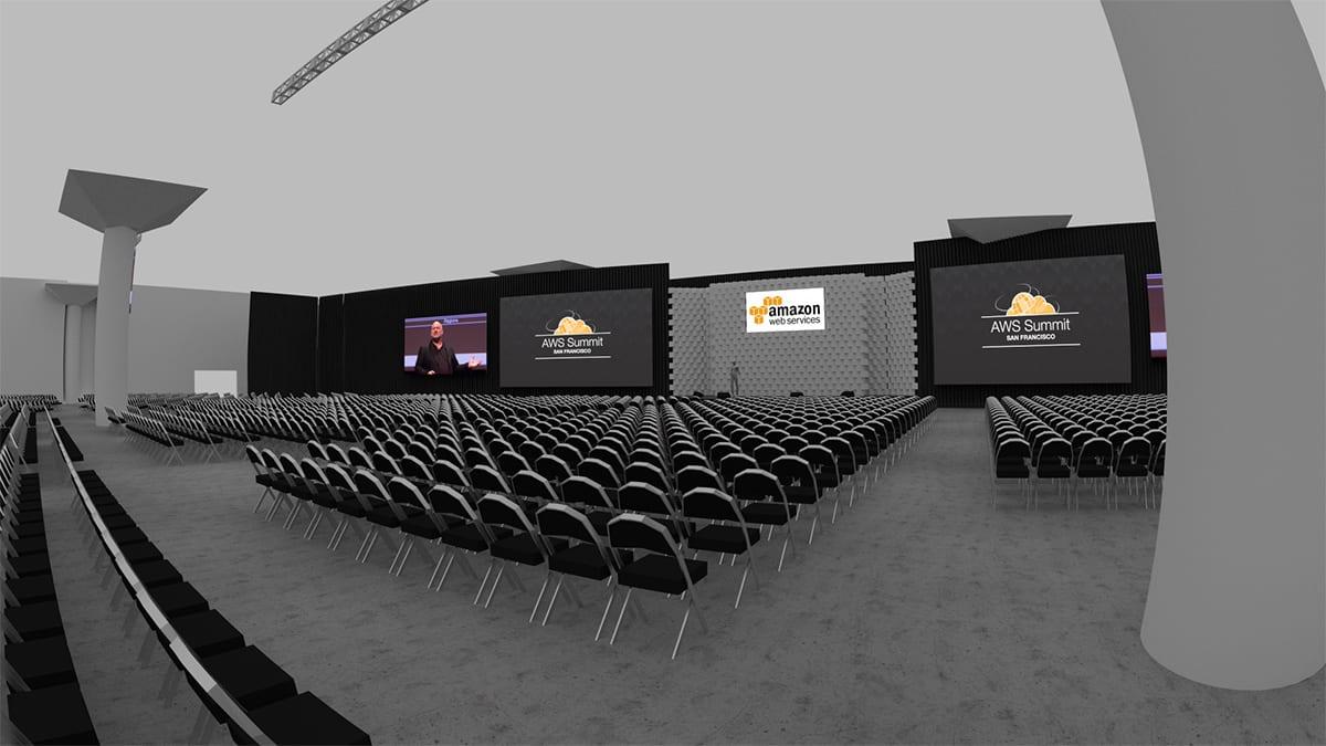 AWS San Francisco stage design