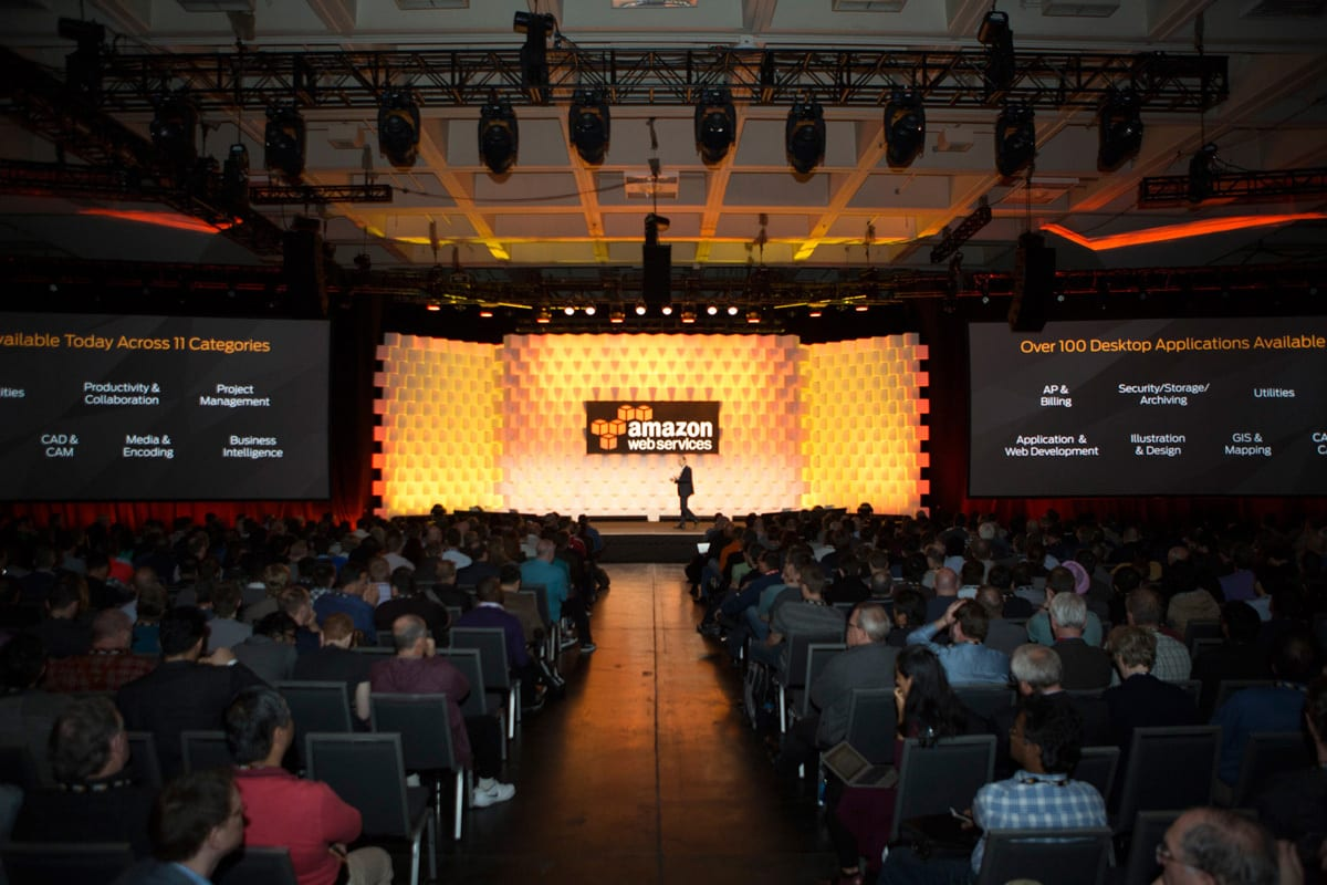 AWS San Francisco stage