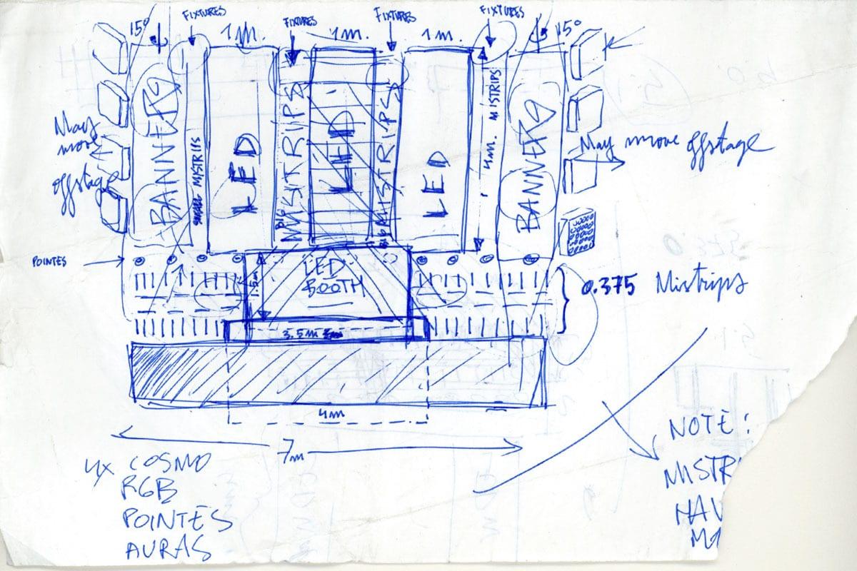 Wargaming Gamescom Party vol. II concept  sketch